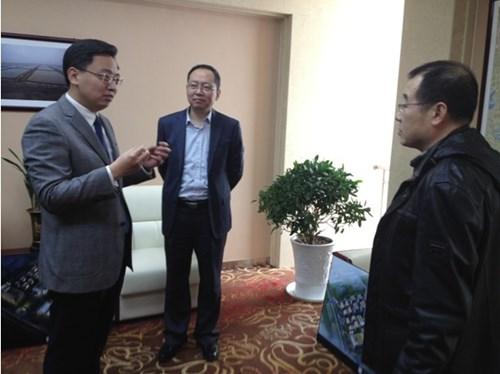 青岛市委常委,高新区工委书记陈飞在高新区管