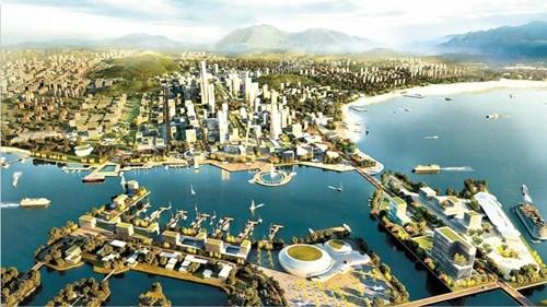青岛日报:西海岸,新城之梦